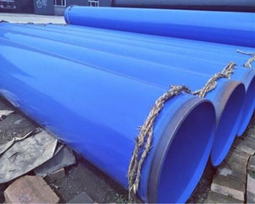 内外壁熔接环氧粉末防腐钢管,规格219-3000mm